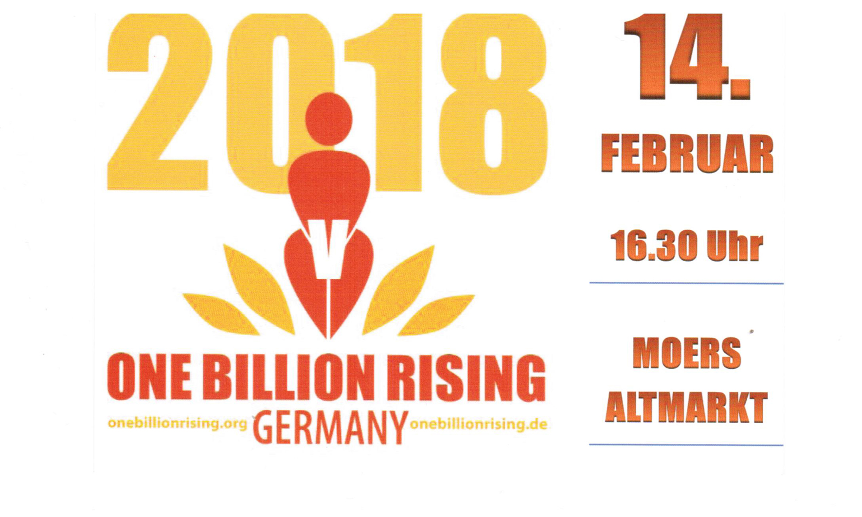 one billion rising 2018 1